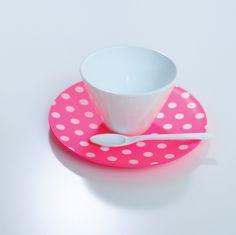 New Cubism Dot Cup & Saucer