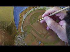 10.3 Dipingere l'icona della Madonna di Vladimir  Fase 3: infrastrato