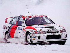 Top 50 Rally Cars: Mitsubishi Lancer Evo 4 | Flickr: Intercambio de fotos