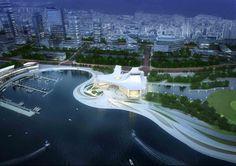 Busan Opera House Second Prize Winning Proposal / designcamp moonpark dmp,Courtesy of designcamp moonpark dmp