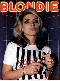 (notitle) - rock n roll pics - Punk Blondie Debbie Harry, Debbie Harry Hair, Mtv, Coachella, Divas Pop, Estilo Rock, Stevie Nicks, Stevie Ray, Concert Posters