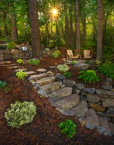 Landscaping Front Yard On A Budget Tips - - Mid Century Modern Landscaping Backyard - - Landscaping Sketch Pencil Landscaping With Rocks, Modern Landscaping, Outdoor Landscaping, Front Yard Landscaping, Outdoor Gardens, Landscaping Borders, Hydrangea Landscaping, Landscaping Jobs, Tropical Landscaping