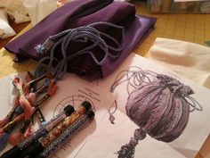 make your own hermione's beaded bag (part 1...scroll to bottom for links to part 2 and 3).