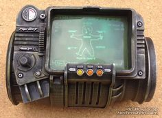 Pip-Boy 3000 3D printed prop from Fallout video game