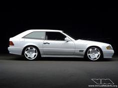 #Mercedes Benz #SL Class R129 Shooting Break #MercedesBenzofHuntValley. I love the look of this!!!!!!