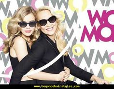 Family Affair–Mother and daughter Georgia May Jagger and Jerry Hall pose together once again for a recent Mother's Day campaign from Sunglass Hat. Georgia May Jagger, Mary Katrantzou, Beauty And Fashion, Fashion Tips, Wow Mom, Jerry Hall, Collection Capsule, Sunglass Hut, Girls With Glasses