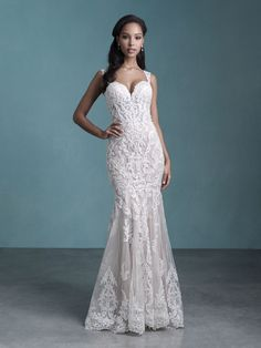 25589 - Presley - Shapes and flatters your body! Try this beauty on at Aurora Bridal in Melbourne, FL 321-254-3880