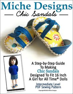 CHIC SANDALS FOR AGAT DOLLS