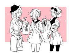 Id Identity, Cool Drawings, Yuri, Love Story, Anime Art, Fan Art, Memes, Funny, Character