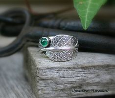 Joanne Rowan https://www.etsy.com/listing/269717715/sage-leaf-ring-with-natural