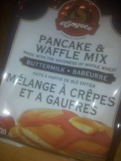 Best pancake mix ever, tastes just as amazing as it did when I was 7. #pancake #mix #breakfast