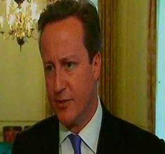 DAVID CAMERON, UK PRIME MINISTER.