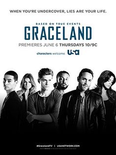 Graceland with Daniel Sunjata and Aaron Tveit such a good show