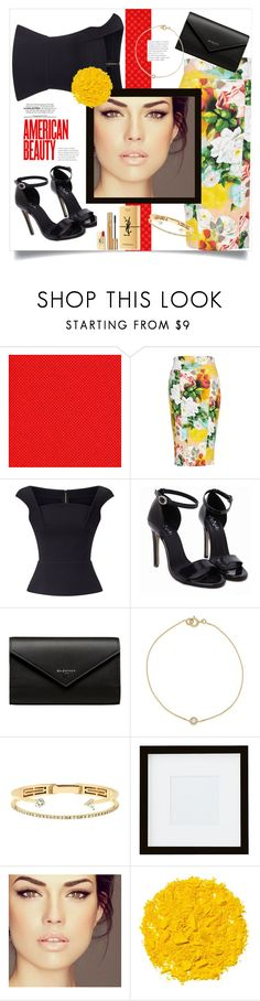 """""""Untitled #350"""" by riuk ❤ liked on Polyvore featuring Melissa McCarthy Seven7, Roland Mouret, Balenciaga, Delfina Delettrez, Pottery Barn, Illamasqua, Yves Saint Laurent and plus size clothing"""