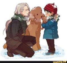 Viktor finds out about Yuri's last dogs death and decides to get him … #fanfiction Fanfiction #amreading #books #wattpad