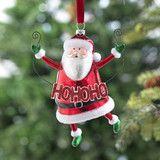 Ho Ho Ho Santa Claus Ornament -  PerfectlyFestive