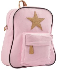 Extra cute pale rose pink canvas backpack by the lovely Danish designers SmallStuff Coated - dirt- and water-repelling Perfect size for day care cm. Baby Kind, Canvas Backpack, Herschel Heritage Backpack, Leather Backpack, Fashion Backpack, Style Me, Backpacks, Stars, Cute
