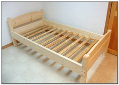 Деревянная детская кровать чертежи фото