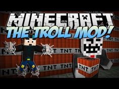 Minecraft | THE TROLL MOD! (Troll TNT, Never Ending Webs & More!) | Mod Showcase - YouTube