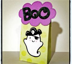 Project Center - Ghost Treat Bags: Create a Critter 2 Contest