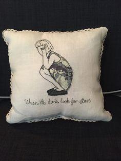 'Stars' cushion