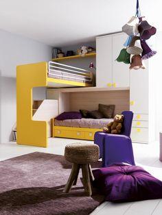 Gerowonen Modern Kids Furniture, Lit Simple, Loft, Bed, Home Decor, Houses, Bunk Bed, Contemporary, Home Decoration