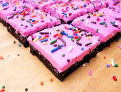 Frosted Chocolate Cookie Bars