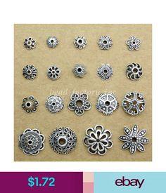 f589bda46 Wholesale Charm Hollow Tibetan Silver Flower End Bead Caps Connector Diy  Finding #ebay #Home