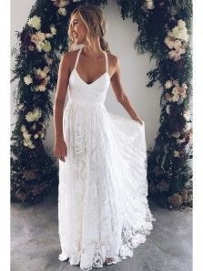 3ed1c79e2c6a Cute Cap Sleeves Long Chiffon Split Beach Wedding Dresses 2018 With Lace  Appliques WD0033