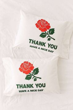Chinatown Market For UO Thank You Pillowcase Set   Urban Outfitters