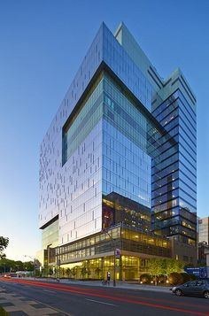 LEED Building, Toronto, Canada | B+H Architects Architecture 101, Hospital Architecture, Office Building Architecture, Architecture Visualization, Commercial Architecture, Futuristic Architecture, Sustainable Architecture, Classical Architecture, Glass Building