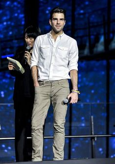 Zachary Quinto in Japan Aug 13