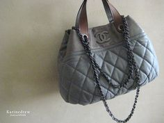 my no. 7th Chanel | large grey in-the-mix bag.