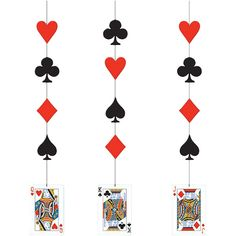 Shop our huge selection of casino themed supplies! You don't have to be a high-roller to throw your own casino party! Kids and adults will love our bingo, card games, dice games and dominoes! Our supplies are perfect for birthdays, school dances, poker Vegas Theme, Vegas Party, Casino Night Party, Poker Party, Casino Party Decorations, Casino Theme Parties, Hanging Decorations, Costume Alice, Kitty Party Themes