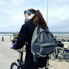 Moments, frozen in time ♡: Cycling along the North Sea