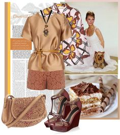 """Chocolate"" by sundarialbina on Polyvore"