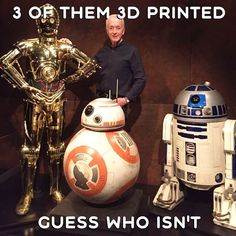 """New"" C-3PO is 3D printed  Star Wars actor Anthony Daniels who played C-3PO revealed all the secrets of his new suit. He wanted the costume ""to be faster"". So it had been 3D printed. Though it weighs about the same, but ""the way it fits together that make it much faster to put on and take off"". #treatstock #treatstockcom #3dprinting #3dprinted #3dprint #3ddesign #design #model #3dp #3dmodel #printed #starwars #starwarsfan #starwarsgeek #starwars7 #starwarstheforceawakens #theforceawakens…"