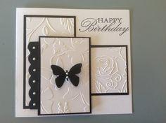 Kaszazz embossed card