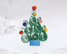 Quilling ile Yeni Yıl Ağacı - Projedenizi