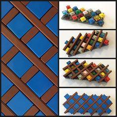 LEGO flooring technique