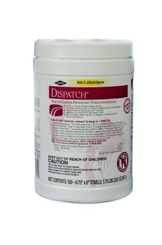 Dispatch 69150 Hospital Cleaner Disinfectant Towel With Bleach (150 Count), 2015 Amazon Top Rated Disinfectant Sprays & Solutions #BISS