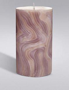 Medium Wave Pillar Candle