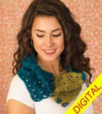 Purbeck Felted #Cowl Digital #Crochet Pattern from Love of Crochet magazine, Spring 2015