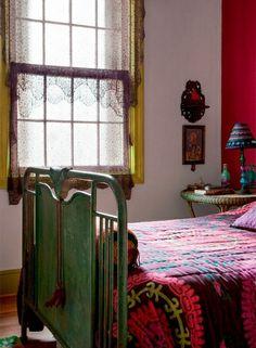 Boho Chic interior Colorful Tropical Home Interior- Casa Brazil