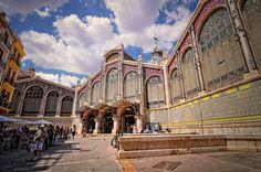 Mercado central de Valencia. — Fuente: Abariltur, en Flickr