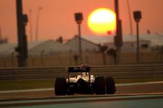 Formula 1 Sunset.