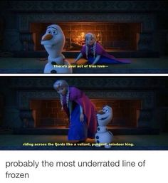 So before I got Frozen on DVD I had saved Valiant Pungent Reindeer King in my notes on my phone. Lol oh. Disney Pixar, Disney Memes, Disney Quotes, Disney Animation, Disney And Dreamworks, Disney Love, Disney Magic, Disney Frozen, Walt Disney