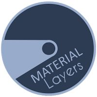 Material Stripes Layers Theme 1.1 APK Apps Personalisation