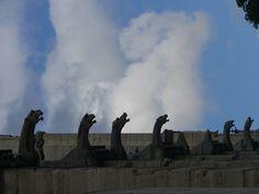 gargoyles of Notre Dame....