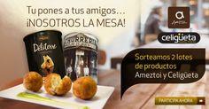 #SORTEO ¿Eres un buen anfitrión? Descúbrelo con nuestro test y gana 2 lotes de productos Ameztoi y Celigüeta.